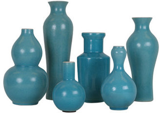 Jayson Home & Garden Turquoise Vases