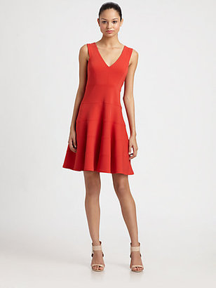 Robert Rodriguez Fit-And-Flare Seam Dress