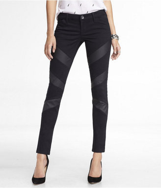 Express (Minus The) Leather Striped Legging
