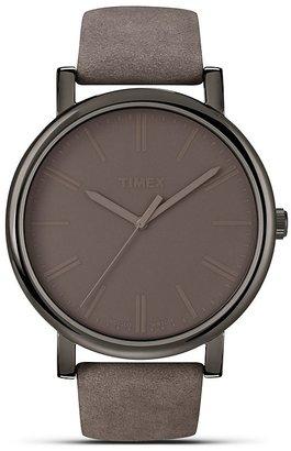 Timex Gunmetal Easy Reader, 42mm