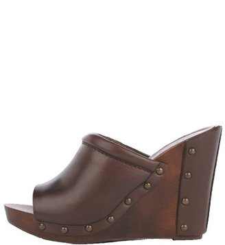Shoebox Leather and Wood Slide