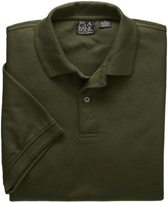 Jos. A. Bank Traveler Solid Short Sleeve Pique Polo