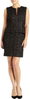 Diane von Furstenberg Delian Pebble Lace Dress