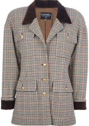 Chanel pied de poule jacket