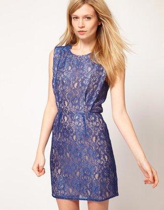 Oasis Lace Cut Out Dress