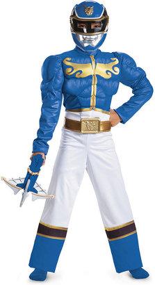 Disguise Power Rangers Kids Costume, Boys or Little Boys Blue Ranger Megaforce Costume