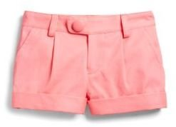 Milly Minis Girl's Bow Pocket Shorts