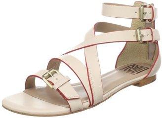 Pour La Victoire Women's Bryn Flat Buckled Sandal