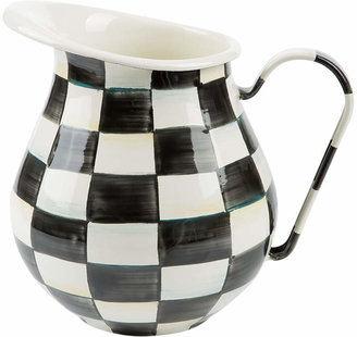 Mackenzie Childs MacKenzie-Childs - Courtly Check Enamel Pitcher
