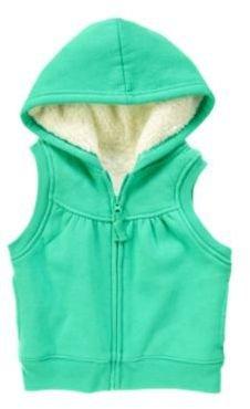 Crazy 8 Faux Fur Lined Hoodie Vest