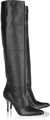 Oscar de la Renta Fallina leather knee boots