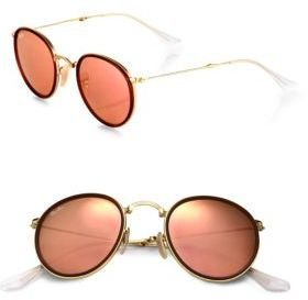 Ray-Ban Collapsible Round Sunglasses