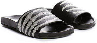 Mara & Mine - Montana Hand Slide In Black/Silver - 6052