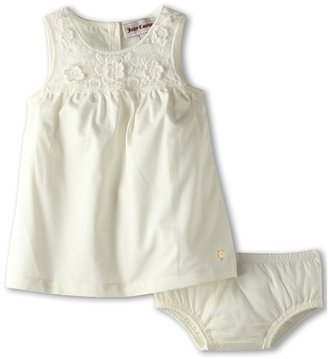 Juicy Couture Spice Market Dress and Bloomer Set (Infant) (White) - Apparel