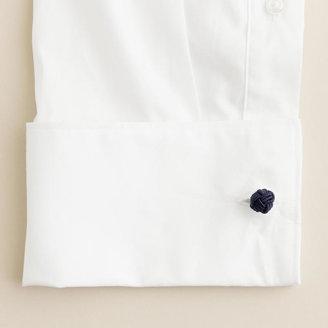 J.Crew Fabric knot cuff links