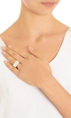 Loren Stewart Silver Flat ID Ring
