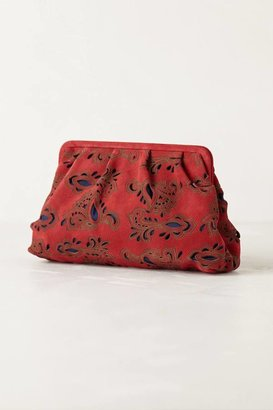 Anthropologie Velvetbloom Clutch