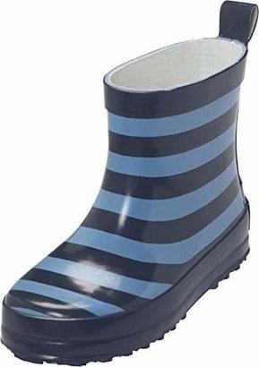 Playshoes Unisex Kids' Gummistiefel Ringel Nieder Wellington Boots