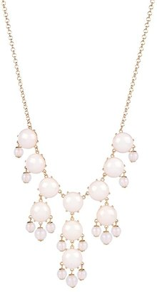 Lori's Shoes White Statement Necklace