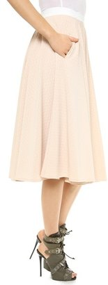 Torn By Ronny Kobo May Textured Skirt