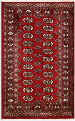 Gooch Luxury Hand Knotted Pakistan Bokhara Handmade Rug, Red