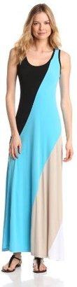 Calvin Klein Women's Colorblock Maxi Dress