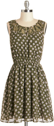 Sprout for the Day Dress