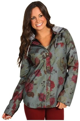 Roxy Torah Bright Insulated Dusk Riding Shirt (Morning Rose) - Apparel