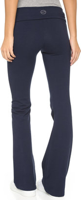 So Low SOLOW Solid Fold Over Pants