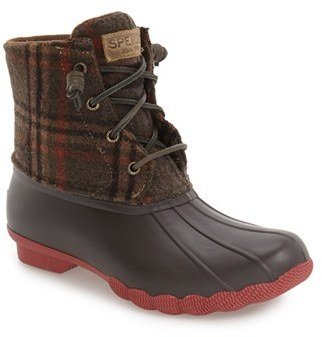 Sperry 'Saltwater' Duck Boot $119.95 thestylecure.com