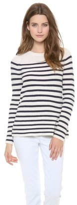 Madewell Striped Ingrid Pullover