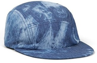 Topman Denim Five Panel Cap