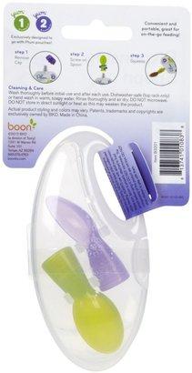 Boon Dispensing Spoon for Plum Organics - Purple/Green - 2 ct - 2 pk