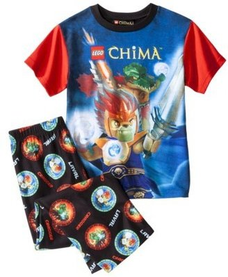 Lego Legends of Chima Boys' Short-Sleeve Pajama Set