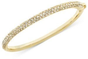 Eliot Danori Bracelet, Silver-Tone Crystal Bangle, Created for Macy's