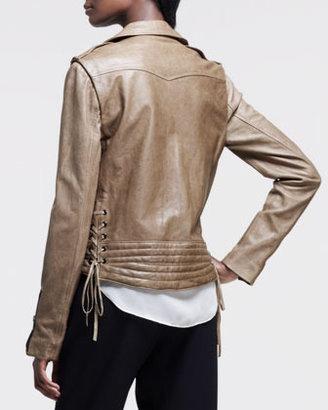 Rag and Bone Rag & Bone Bowery Leather Motorcycle Jacket