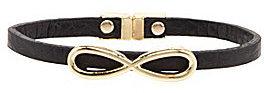 Natasha Infinity Leather Bracelet