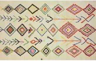 nuLoom Marbella Leorah Diamonds Rug - 5' x 8'