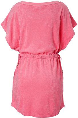 Juicy Couture Flutter Sleeve Mini Dress