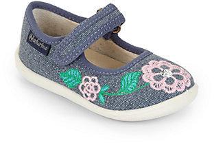 Naturino Infant's & Toddler's Flower Denim Mary Jane Flats
