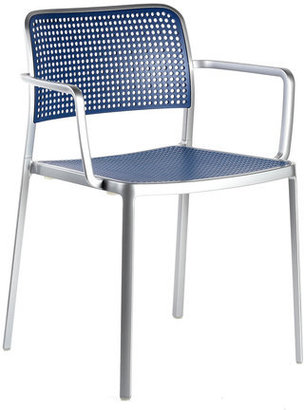 Kartell Audrey Armchair Polished Blue