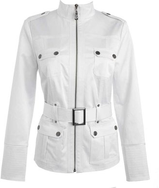 Star by Julien Macdonald White safari belted jacket