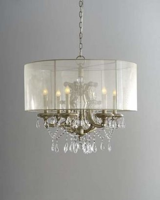 John-Richard Collection 6-Light Veiled Shade Chandelier