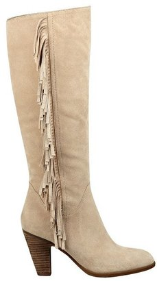 GUESS Migal Fringed Suede Boots