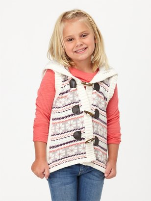 Roxy Girls 2-6 Twinkle Sweater Vest