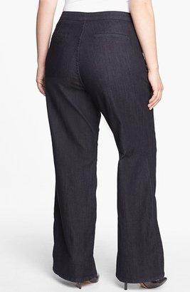 NYDJ 'Filipa' Stretch Trouser Jeans (Dark Enzyme) (Plus Size)