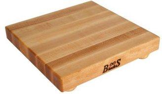 "John Boos & Co. Maple Edge-Grain Cutting Board with Feet, 12"" x 12"" x 11⁄2"""