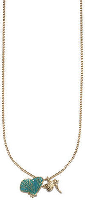 Rachel Roy Butterfly Charm Necklace