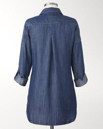 Coldwater Creek Tencel® denim tunic