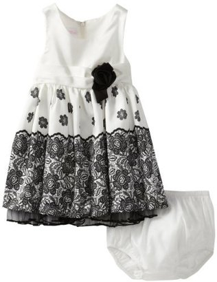 Bonnie Baby Baby-Girls Infant Lace Border Dress